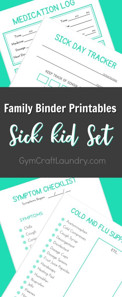 family health printable pack.