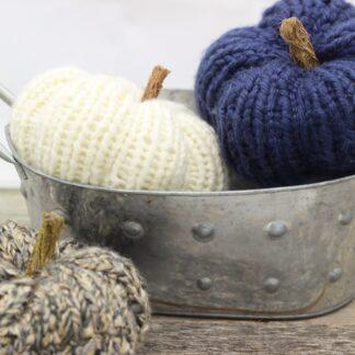 Classic Knit Pumpkins
